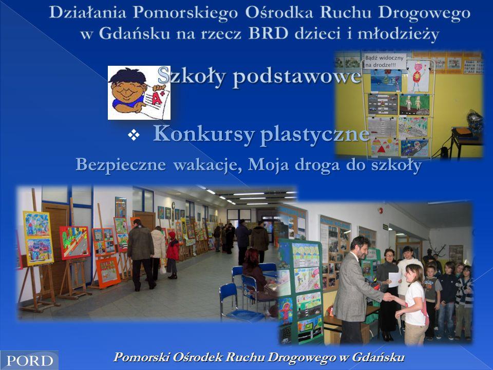 """Pomorski Ośrodek Ruchu Drogowego w Gdańsku """"Bezpiecznie przez cały rok - kalendarze  """"Bezpiecznie przez cały rok - kalendarze"""