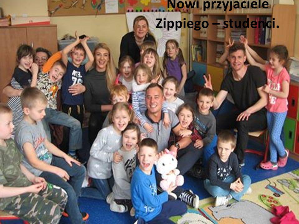 Nowi przyjaciele Zippiego – studenci.
