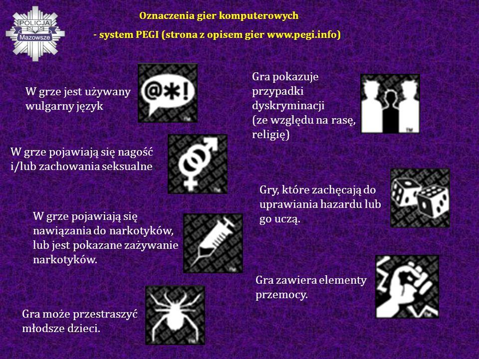 W grze jest używany wulgarny język Gra pokazuje przypadki dyskryminacji (ze względu na rasę, religię) W grze pojawiają się nawiązania do narkotyków, lub jest pokazane zażywanie narkotyków.