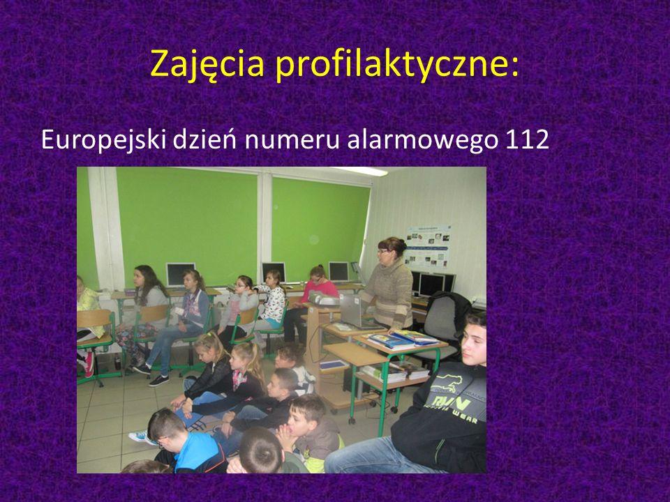 Zajęcia profilaktyczne: Europejski dzień numeru alarmowego 112
