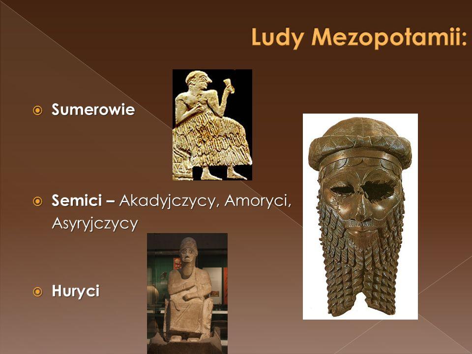 Klasyczna świątynia Mezopotamii.U góry z lewej – wczesna forma świątyni na platformie – tzw.