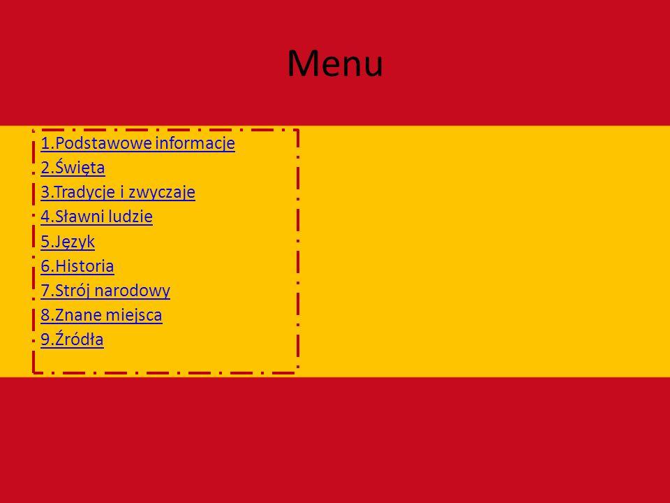 Podstawowe informacje Flaga Hiszpanii składa się z dwóch kolorów: czerwonego i żółtego.