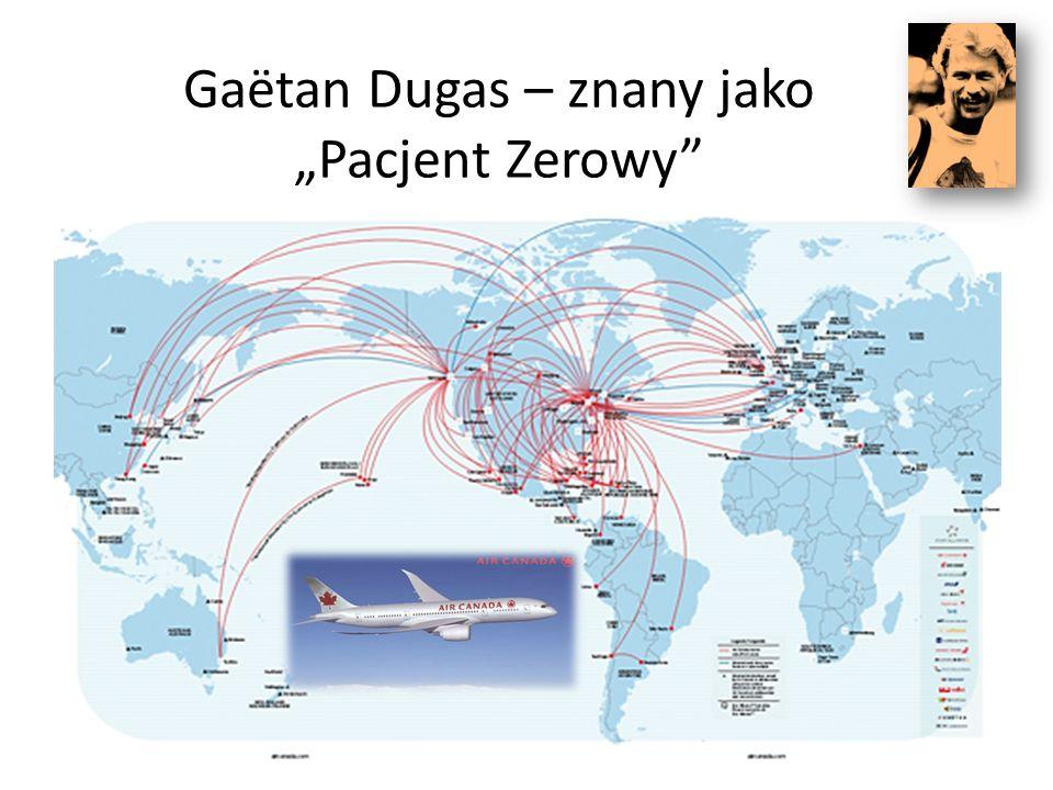 """Gaëtan Dugas – znany jako """"Pacjent Zerowy"""""""