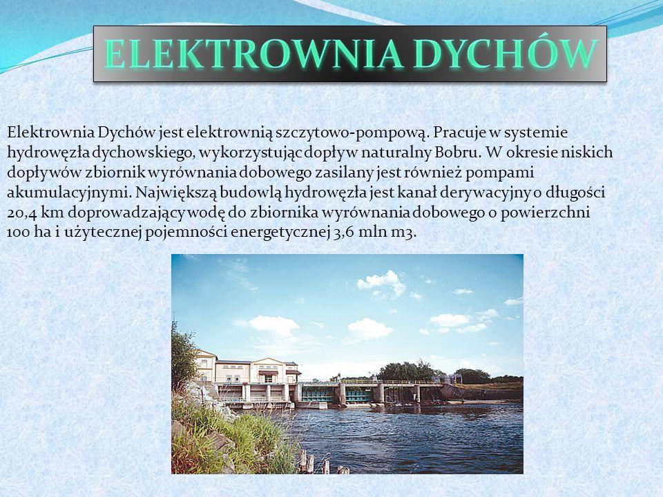 Elektrownia Dychów jest elektrownią szczytowo-pompową.