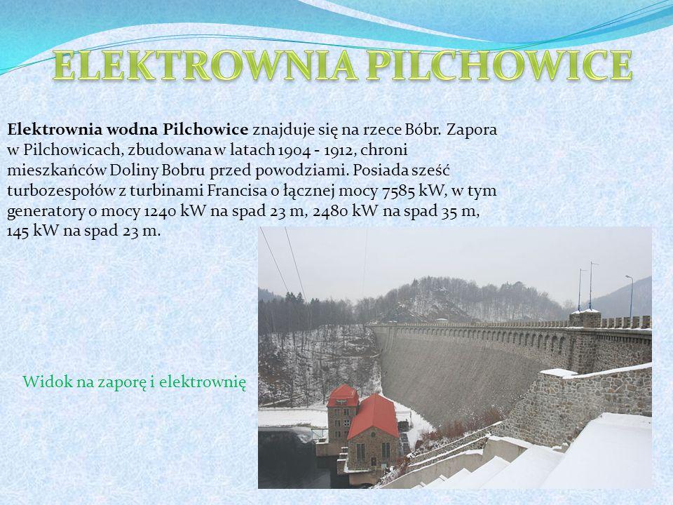 Elektrownia wodna Pilchowice znajduje się na rzece Bóbr.