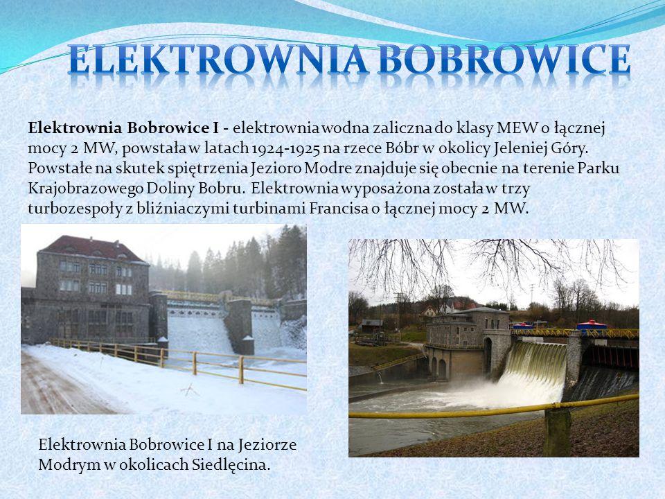 Elektrownia Bobrowice I - elektrownia wodna zaliczna do klasy MEW o łącznej mocy 2 MW, powstała w latach 1924-1925 na rzece Bóbr w okolicy Jeleniej Góry.