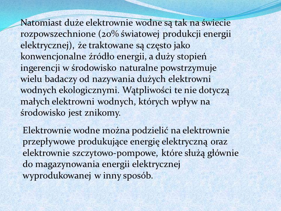 W latach pięćdziesiątych Elektrownia Koronowo była jednym z największych obiektów polskiej energetyki wodnej budowanym całkowicie od fundamentów.