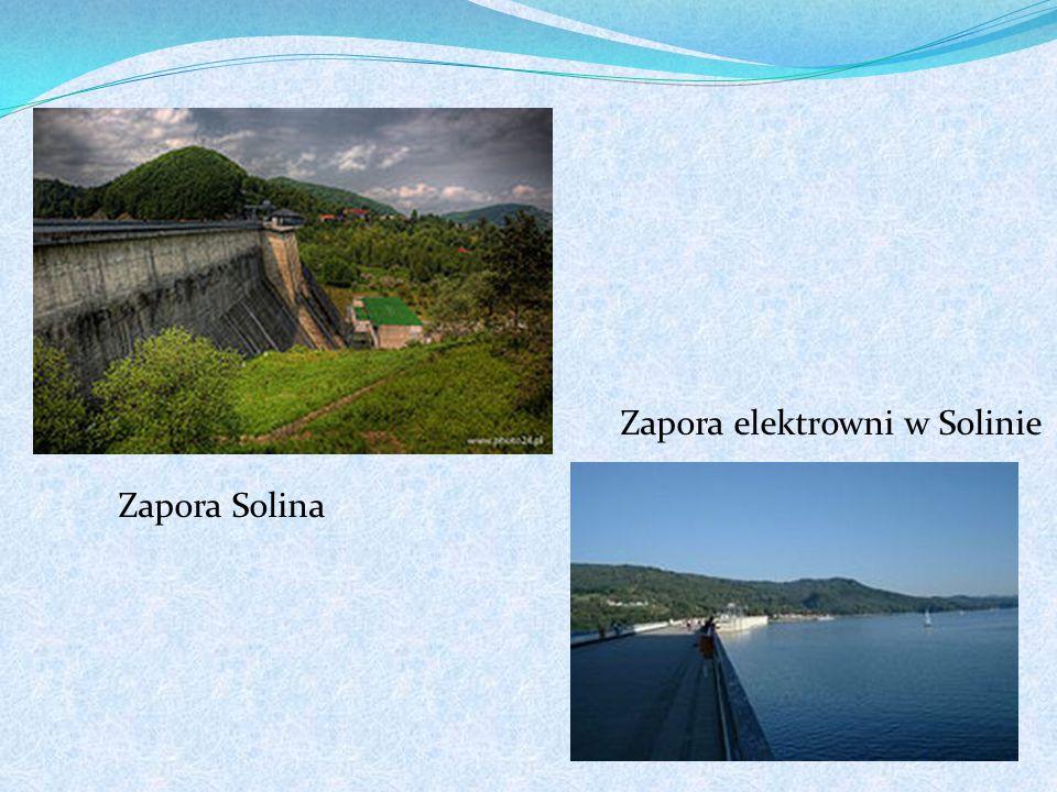 Zapora elektrowni w Solinie Zapora Solina