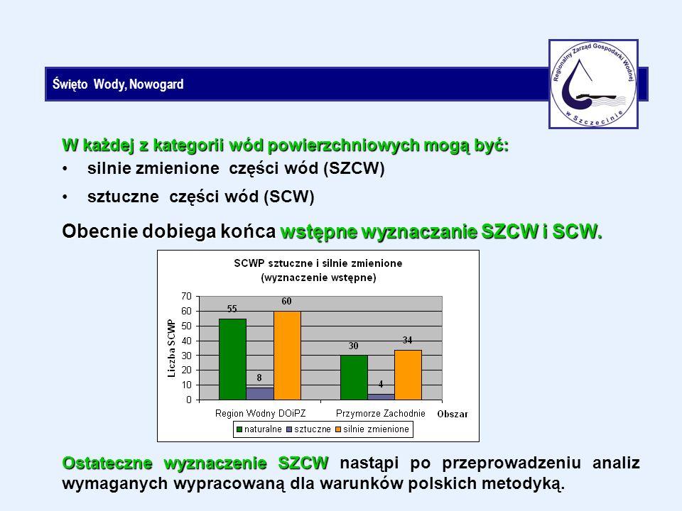 Święto Wody, Nowogard Obecnie dobiega końca wstępne wyznaczanie SZCW i SCW.