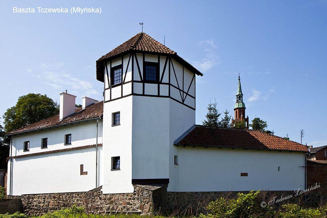 Baszta Gdańska (Szewska) – powstała ok. 1325 roku i wg tradycji znajdowała się pod opieką szewców. Jeden z najlepiej zachowanych obiektów gotyckiej ar