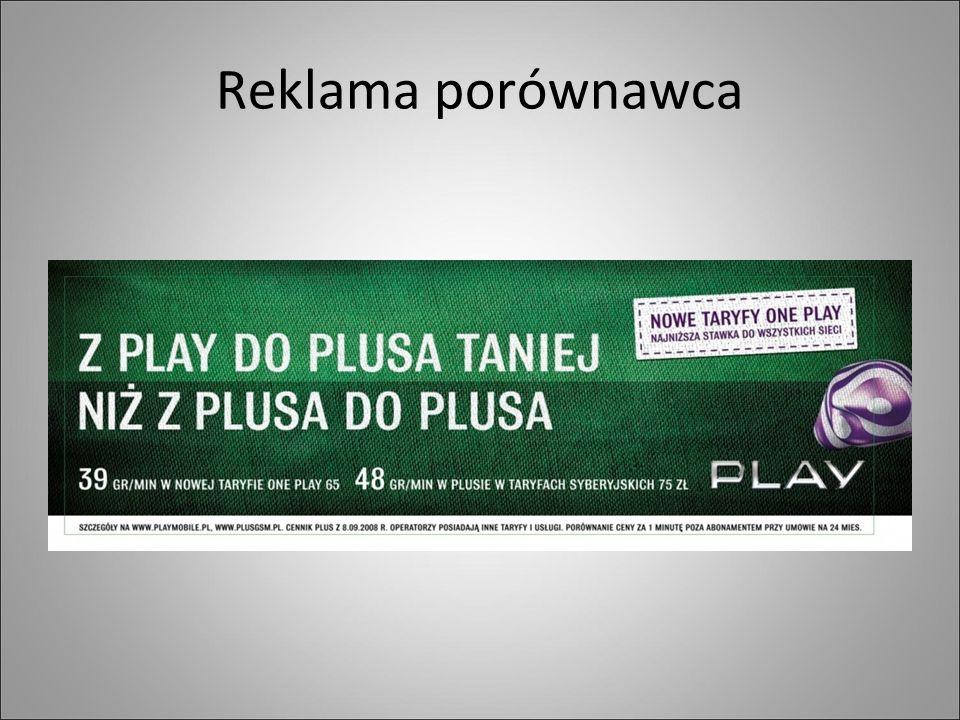 Reklama porównawca