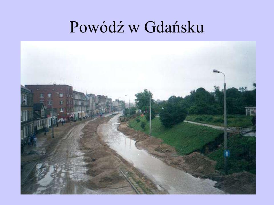 Powódź w Gdańsku