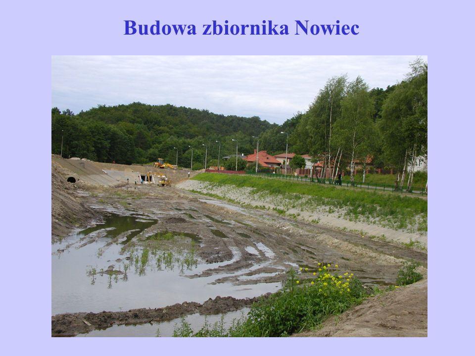 Budowa zbiornika Nowiec