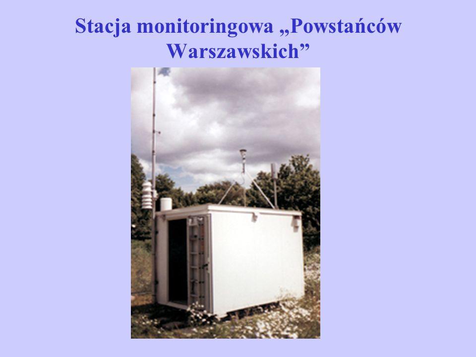 """Stacja monitoringowa """"Powstańców Warszawskich"""""""