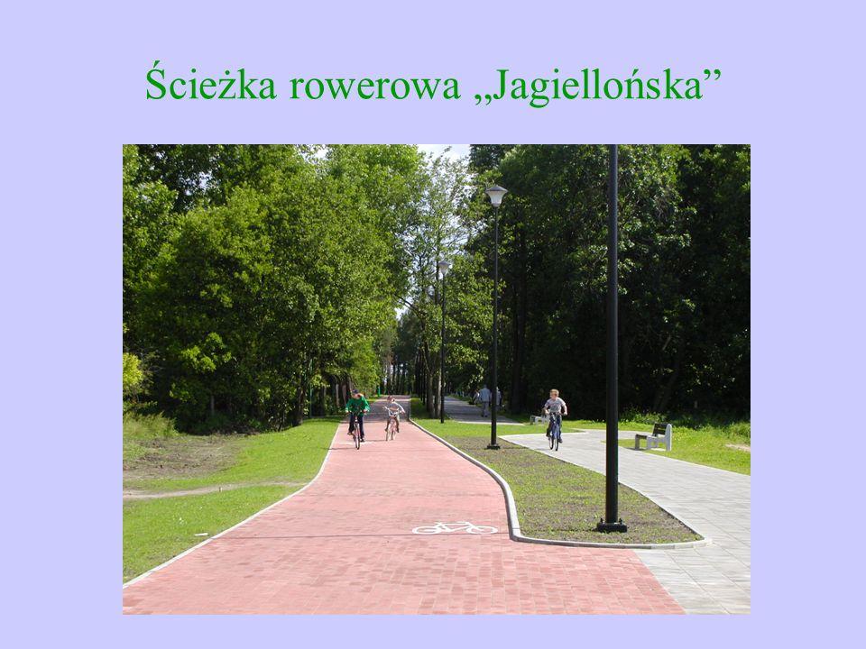 "Ścieżka rowerowa ""Jagiellońska"""