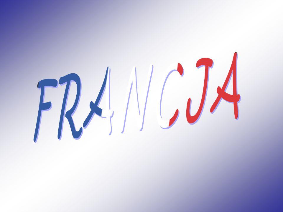 Francja, Republika Francuska – państwo, którego część metropolitarna znajduje się w Europie Zachodniej, posiadające także zamorskie terytoria na innych kontynentach.