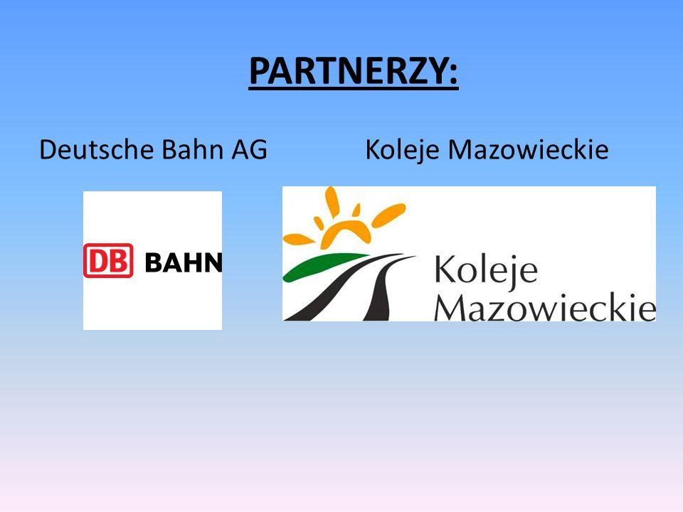 Deutsche Bahn AG PARTNERZY: Koleje Mazowieckie