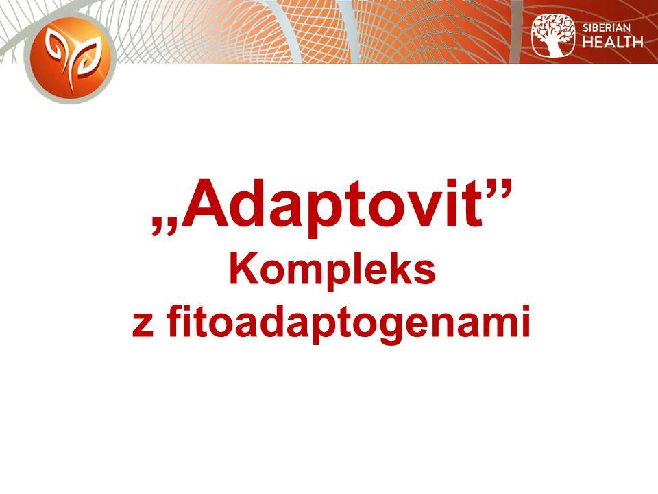 """""""Adaptovit Kompleks z fitoadaptogenami"""