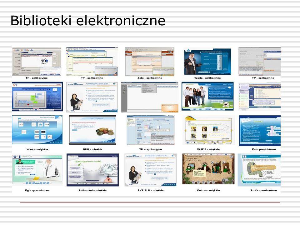 Biblioteki elektroniczne