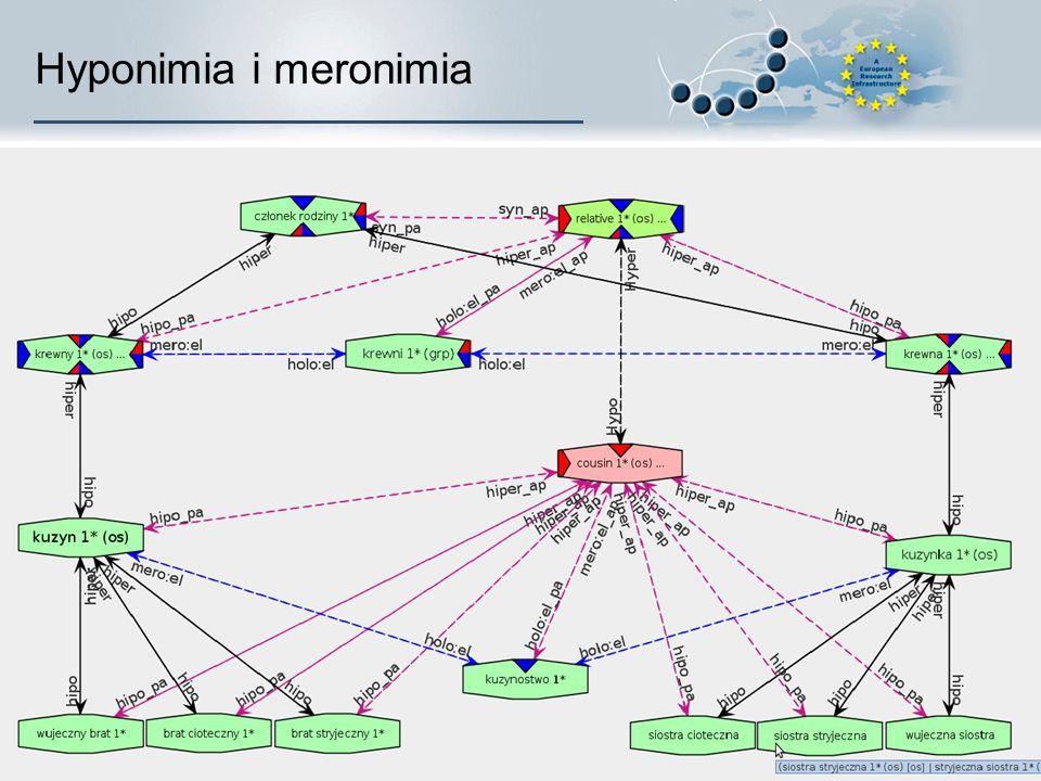 Hyponimia i meronimia
