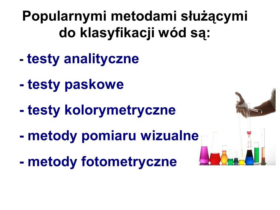- temperatury - smaku - zapachu - barwy - przezroczystości Konieczne jest także przeprowadzenie badań bakteriologicznych.
