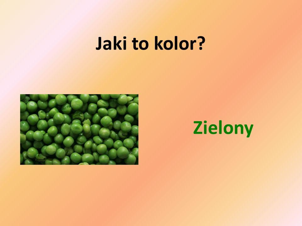 Zielony Jaki to kolor?