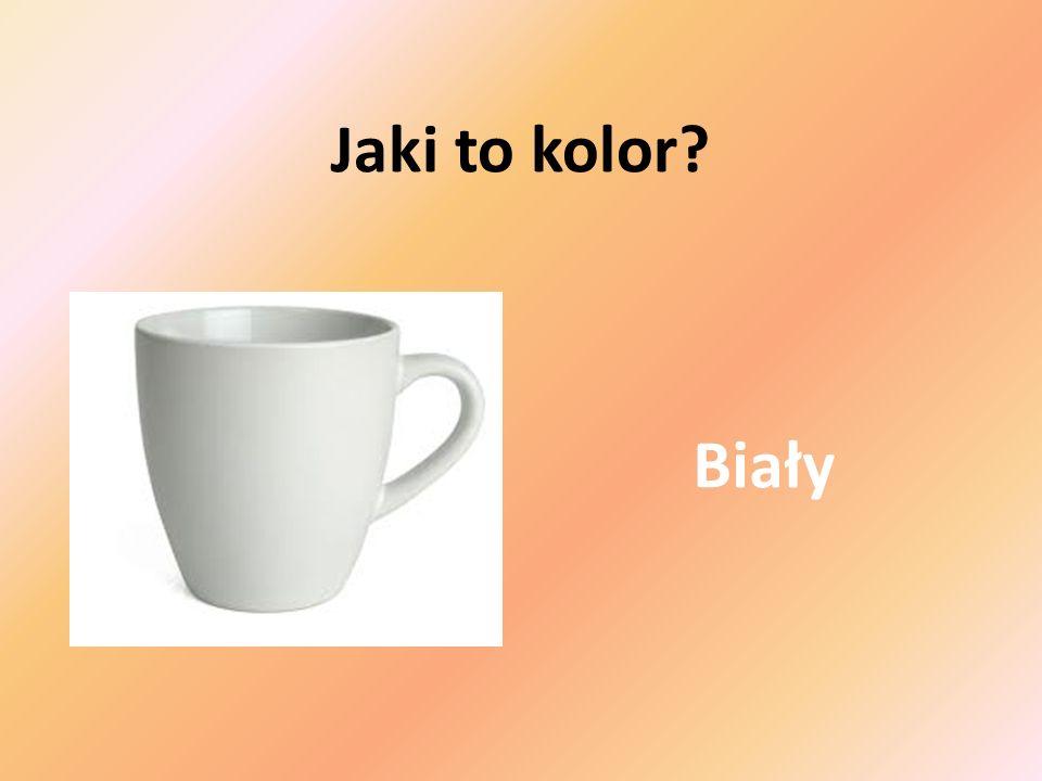 Biały Jaki to kolor?