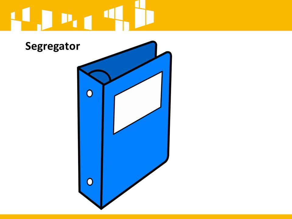 Segregator