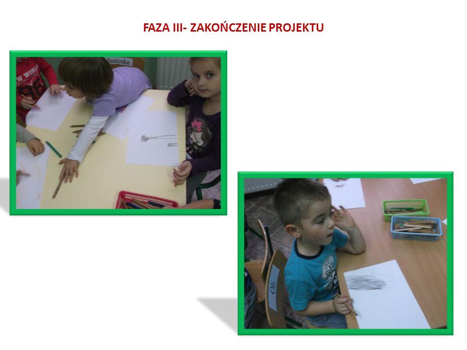 FAZA III- ZAKOŃCZENIE PROJEKTU