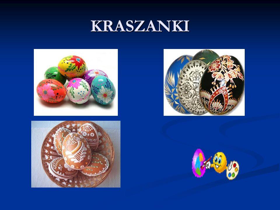 JAJKO ŚWIĘCONE To symbol Świąt Wielkanocnych Obok jajek w koszyku pojawia się jeszcze wędliny, baranek, przyprawy