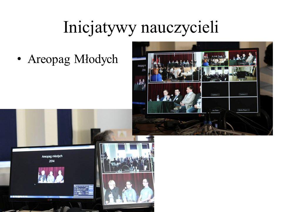 Inicjatywy nauczycieli Areopag Młodych