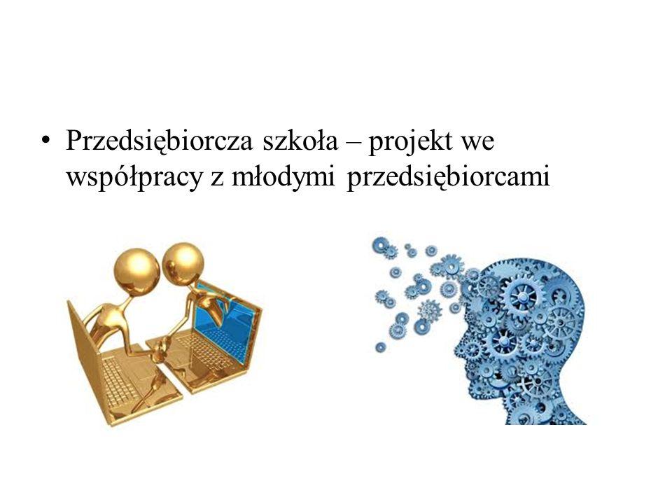 Przedsiębiorcza szkoła – projekt we współpracy z młodymi przedsiębiorcami