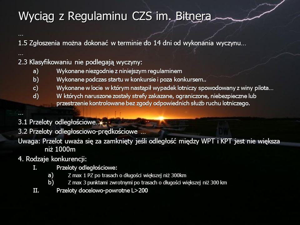 Wyciąg z Regulaminu CZS im.
