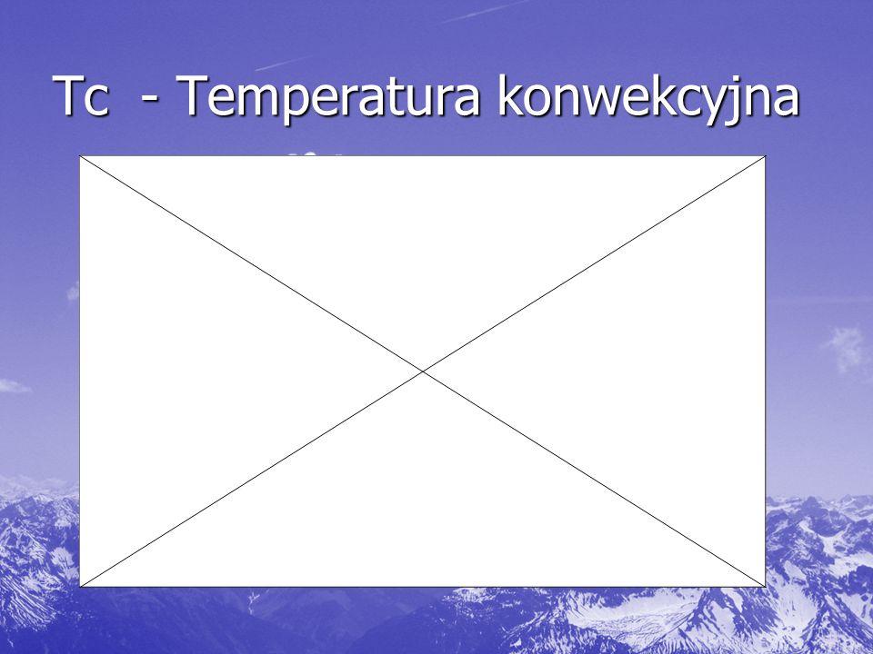 Tc- Temperatura konwekcyjna