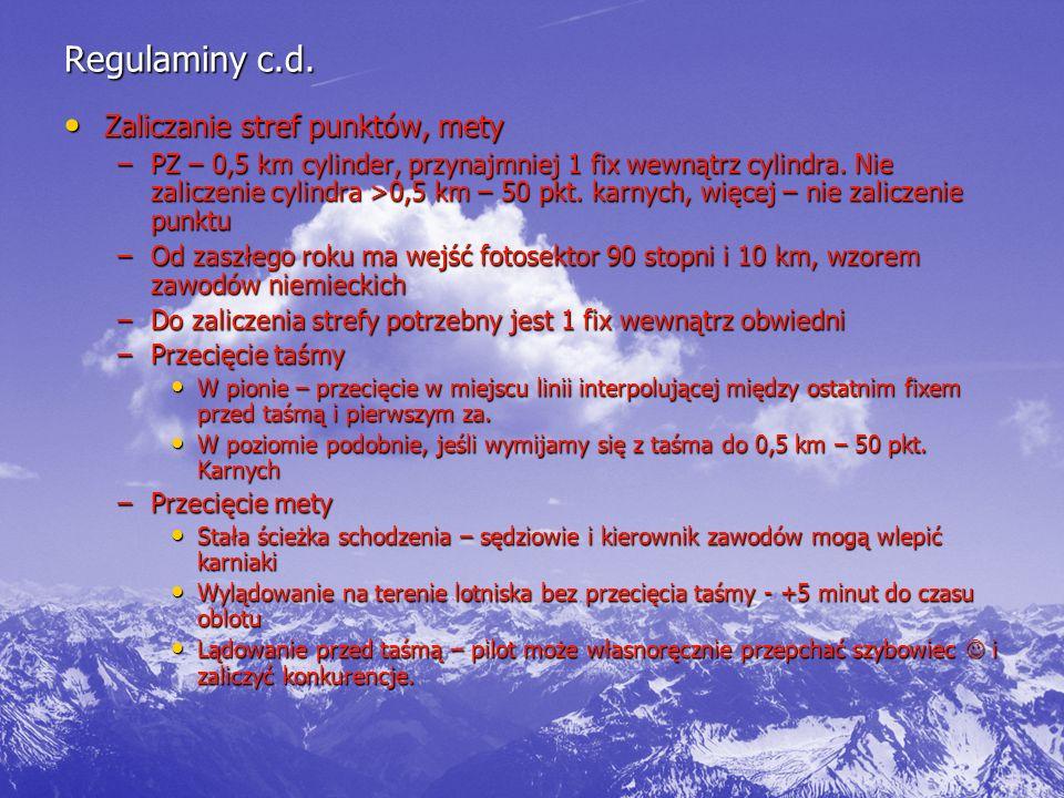 Regulaminy c.d.