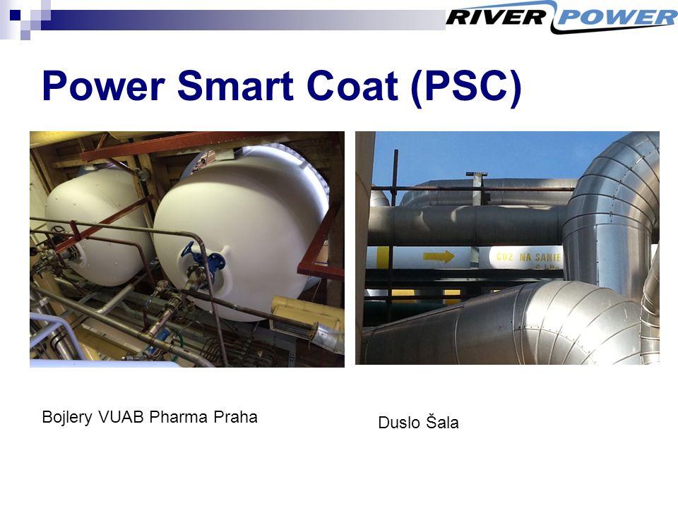 Power Smart Coat (PSC) Bojlery VUAB Pharma Praha Duslo Šala