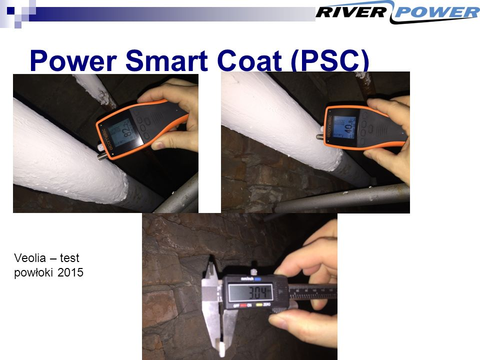 Power Smart Coat (PSC) Veolia – test powłoki 2015