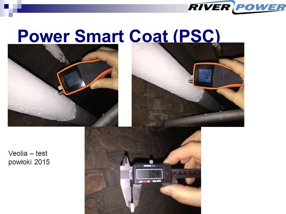 Power Smart Coat (PSC) Veolia – test powłoki 2015