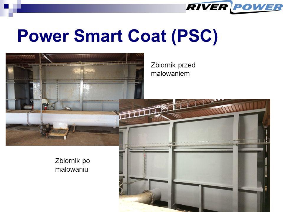 Power Smart Coat (PSC) Zbiornik przed malowaniem Zbiornik po malowaniu