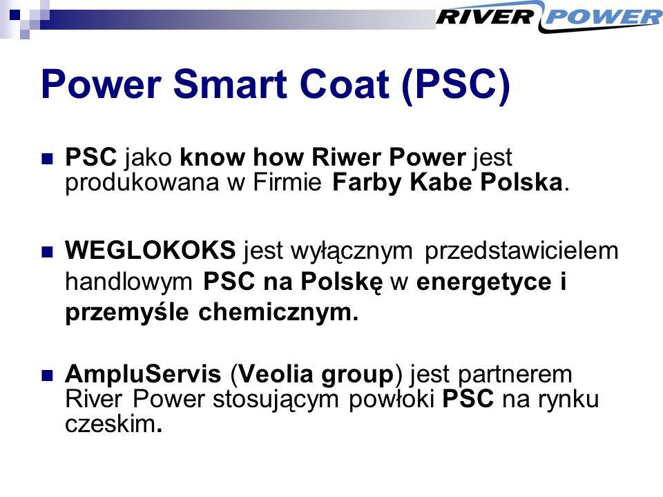 Power Smart Coat (PSC) PSC jako know how Riwer Power jest produkowana w Firmie Farby Kabe Polska.