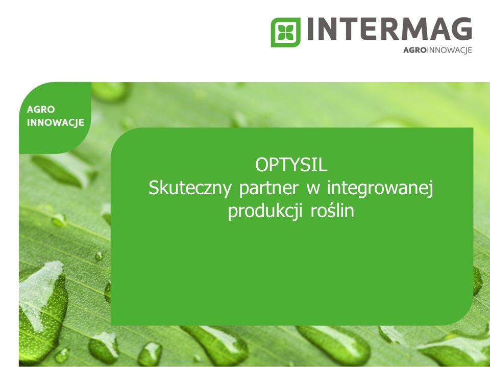 OPTYSIL Skuteczny partner w integrowanej produkcji roślin