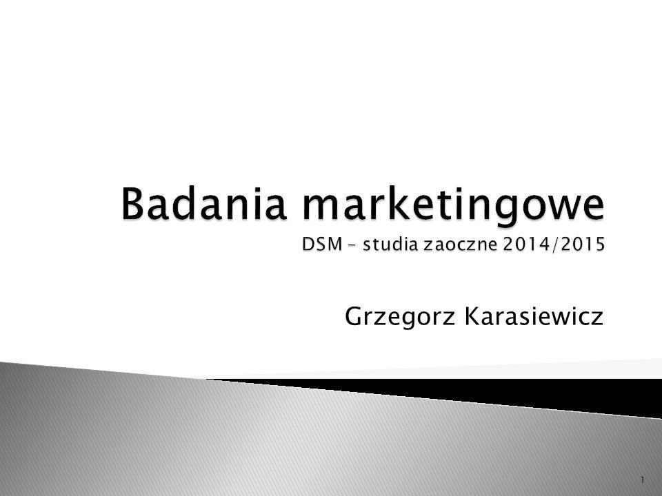  Prowadzący zajęcia : prof.dr hab. Grzegorz Karasiewicz ◦ Dyżur – poniedziałek, godz.