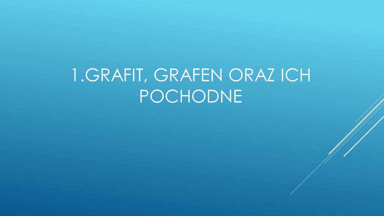 1.GRAFIT, GRAFEN ORAZ ICH POCHODNE