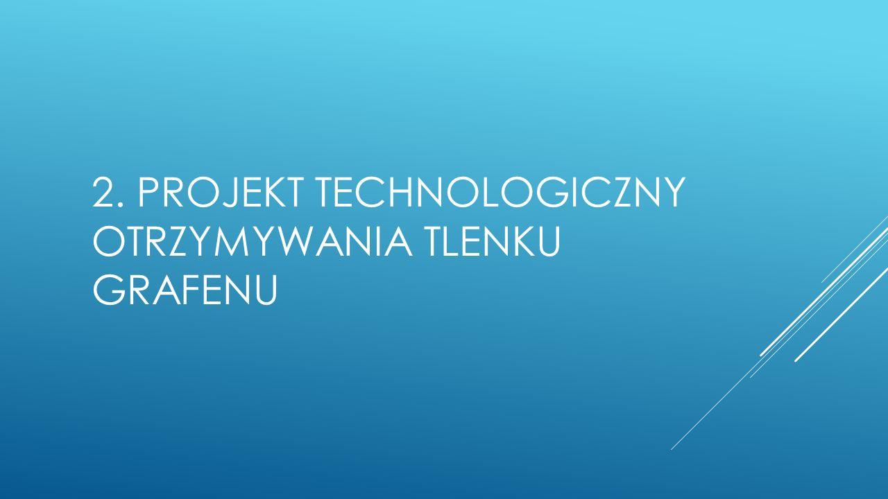 2. PROJEKT TECHNOLOGICZNY OTRZYMYWANIA TLENKU GRAFENU