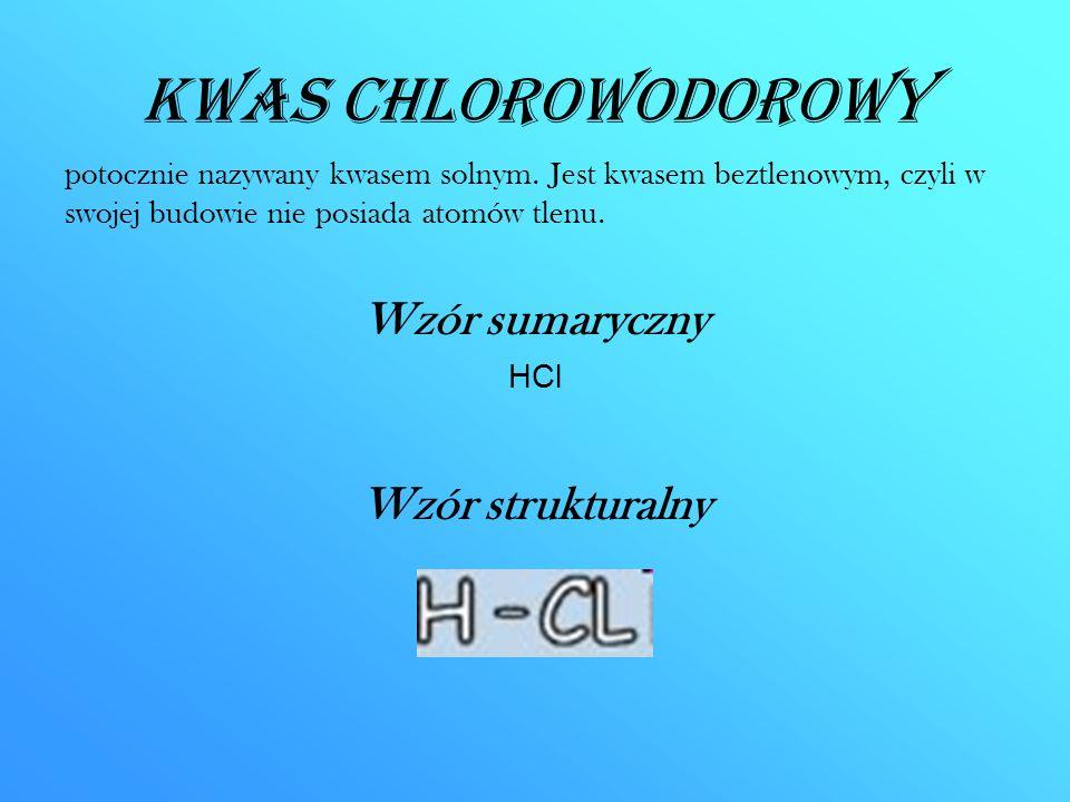 Kwas chlorowodorowy CD.