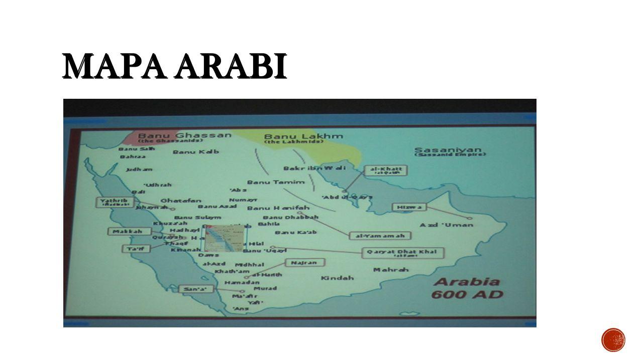 MAPA ARABI