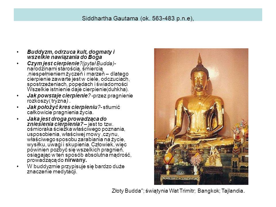 Siddhartha Gautama (ok.