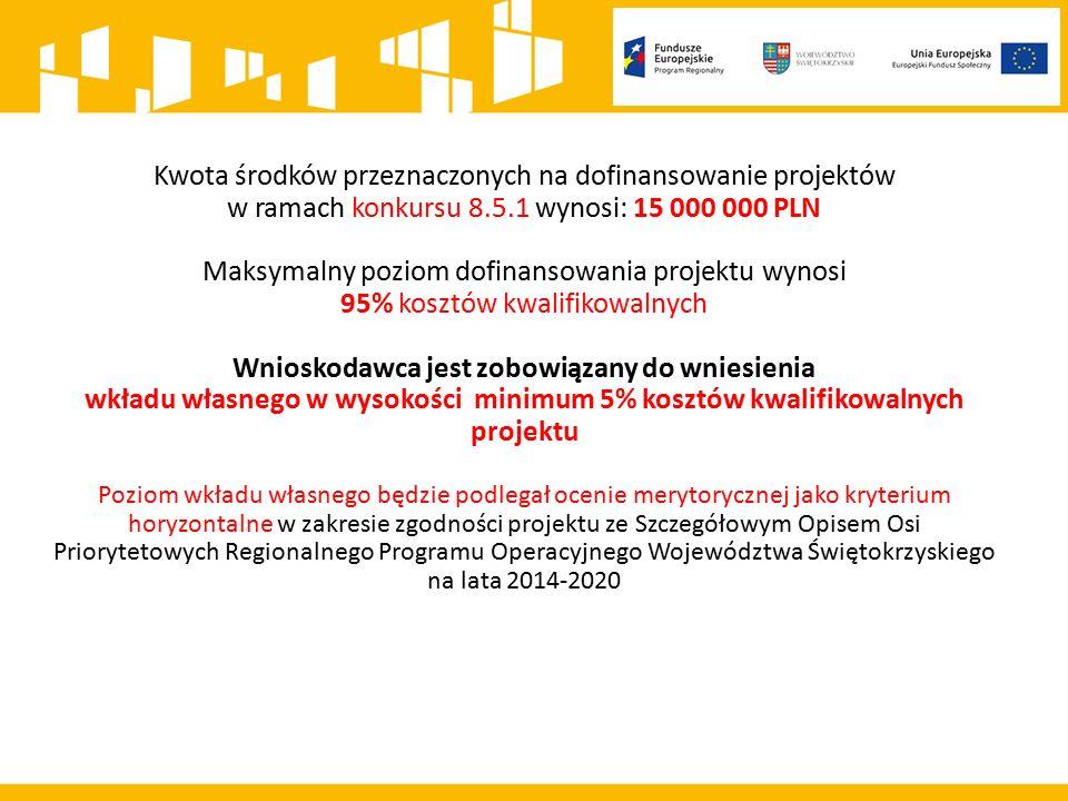 Nabór wniosków: 31.08.2015 - 18.09.2015 Zachowanie terminu na złożenie wniosku oznacza złożenie wniosku do IOK w wersji papierowej (dwa egzemplarze) oraz elektronicznej za pośrednictwem Generatora Wniosków o Dofinansowanie dla RPO WŚ 2014 - 2020 (zwanego Lokalnym Systemem Informacji) Wniosek w wersji papierowej Wnioskodawca składa w terminie do 5 dni roboczych od dnia wysłania wniosku w wersji elektronicznej przez LSI, pod rygorem pozostawienia wniosku bez rozpatrzenia Suma kontrolna wniosku przekazanego przez LSI i suma kontrolna wniosku w wersji papierowej musi być taka sama.