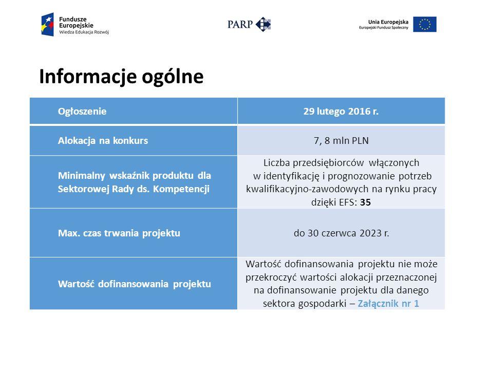 Kryteria dostępu weryfikowane na etapie oceny merytorycznej (1) 9.
