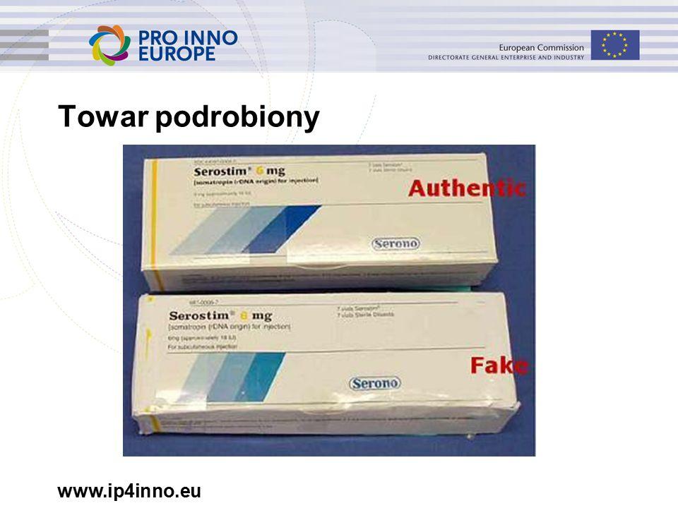 www.ip4inno.eu Towar podrobiony